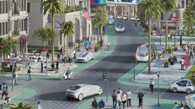 Bosch en Daimler: metropolis in Californië wordt proefstad voor geautomatiseerd rijden