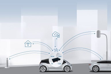 Bosch en Veniam garanderen een naadloze vehicle- to-everything communicatie