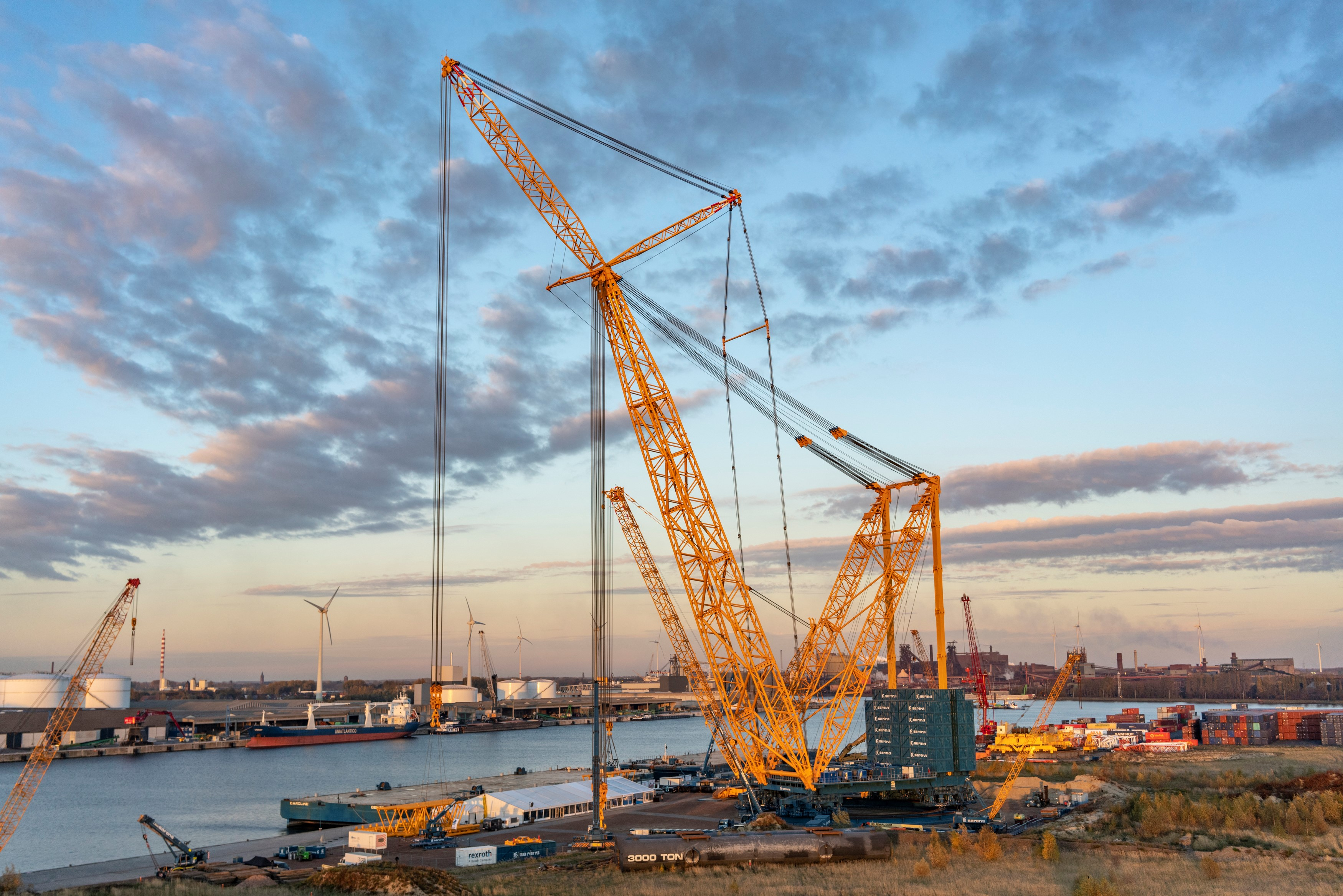 Sarens has launched the largest crane in the world