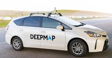 A DeepMap Mapping Vehicle