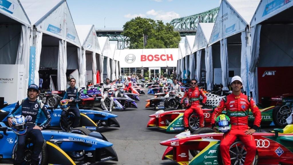 Bosch sponsor Formule E