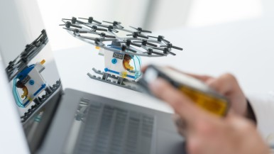 Bosch-technologie leert auto's vliegen