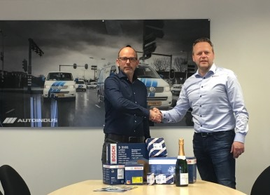 AutoIndus wordt Bosch First Supplier