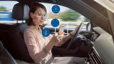 Camera-based life-saver: Bosch helps cars keep an eye on their passengers