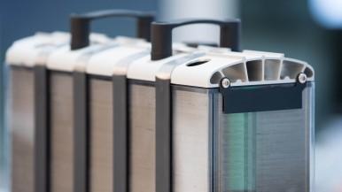 Voor de elektrificatie van zware voertuigen: de Bosch brandstofcelstapel
