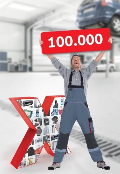 Het Bosch-loyaliteitsprogramma eXtra telt wereldwijd meer dan 100.000 geregistreerde garages!