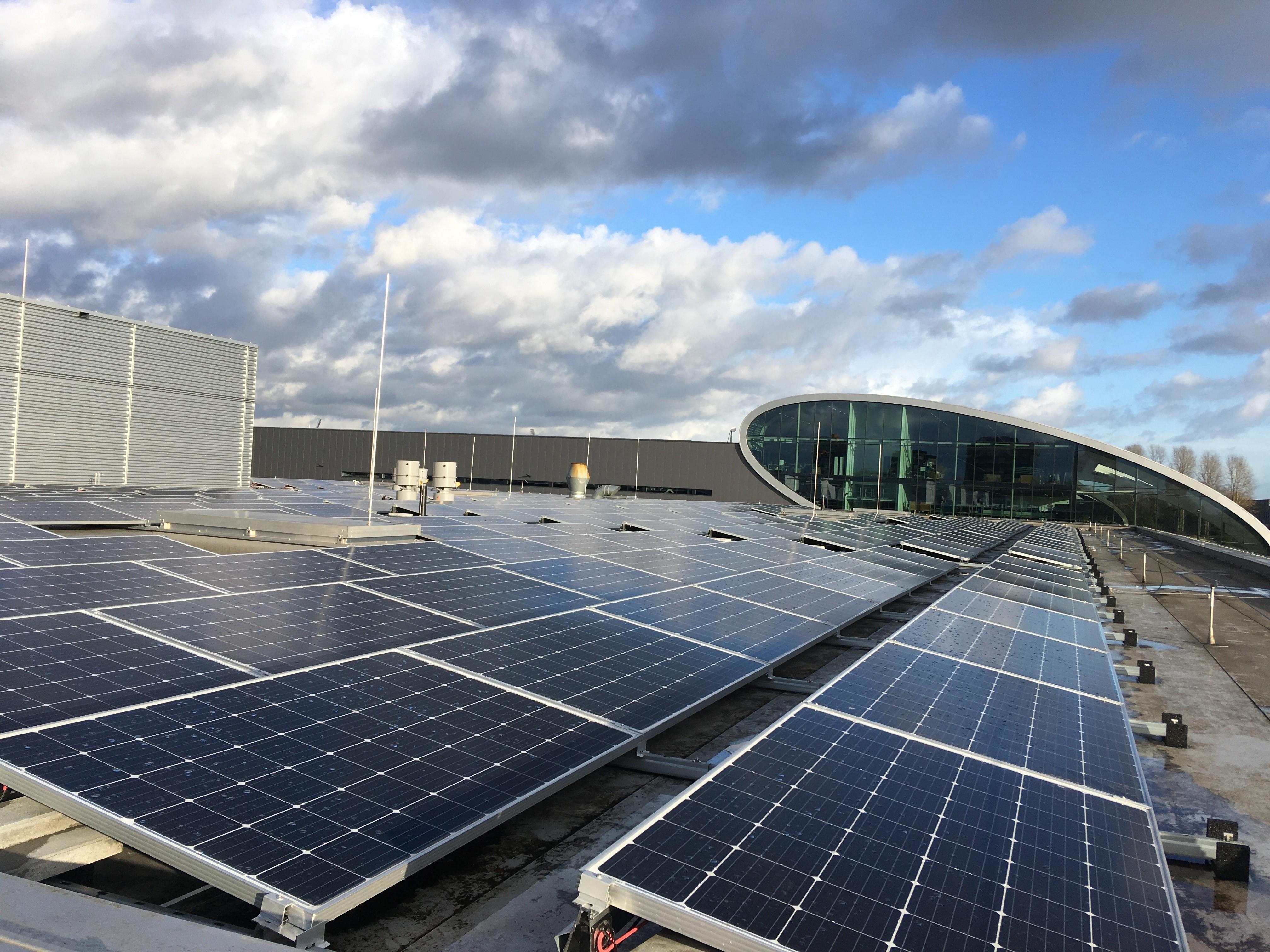 Zonnepanelen in Bosch Tilburg