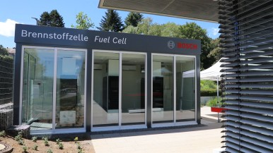 Brandstofcel in Wernau, ook klaar voor waterstof