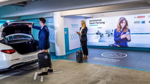 Automated Valet Parking Stuttgart