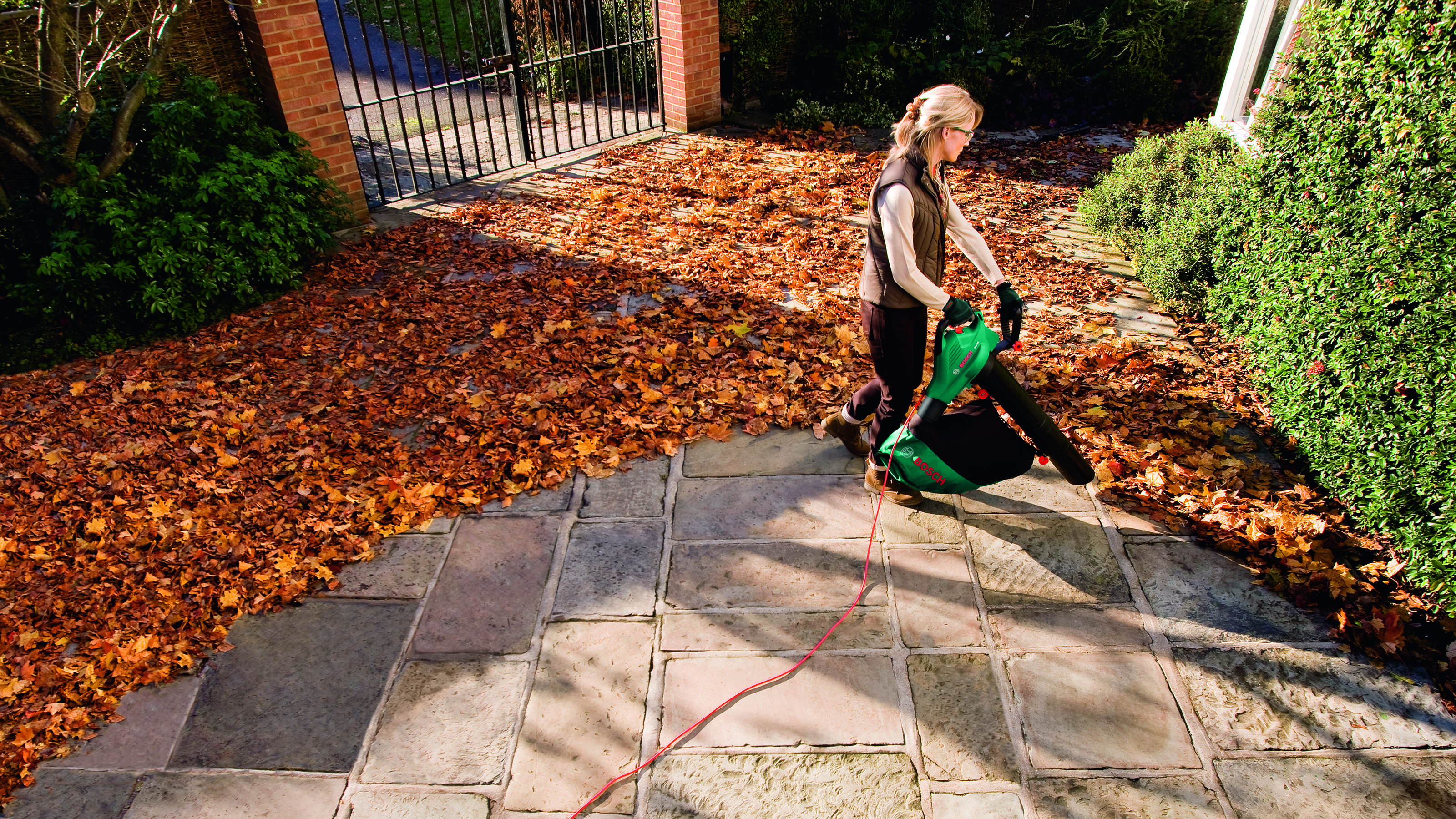 Jak zachować porządek w ogrodzie jesienią?