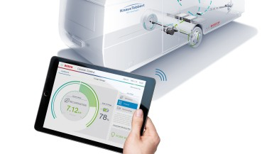 Bosch Engineering i Knaus Tabbert prezentują inteligentny system elektryczny 48 V do przyczep kempingowych