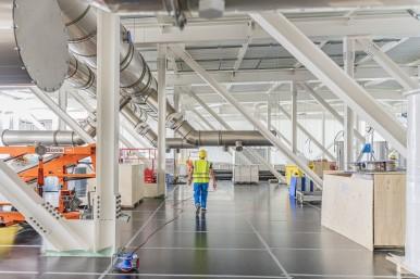 Budowa fabryki półprzewodników w Dreźnie (Niemcy)