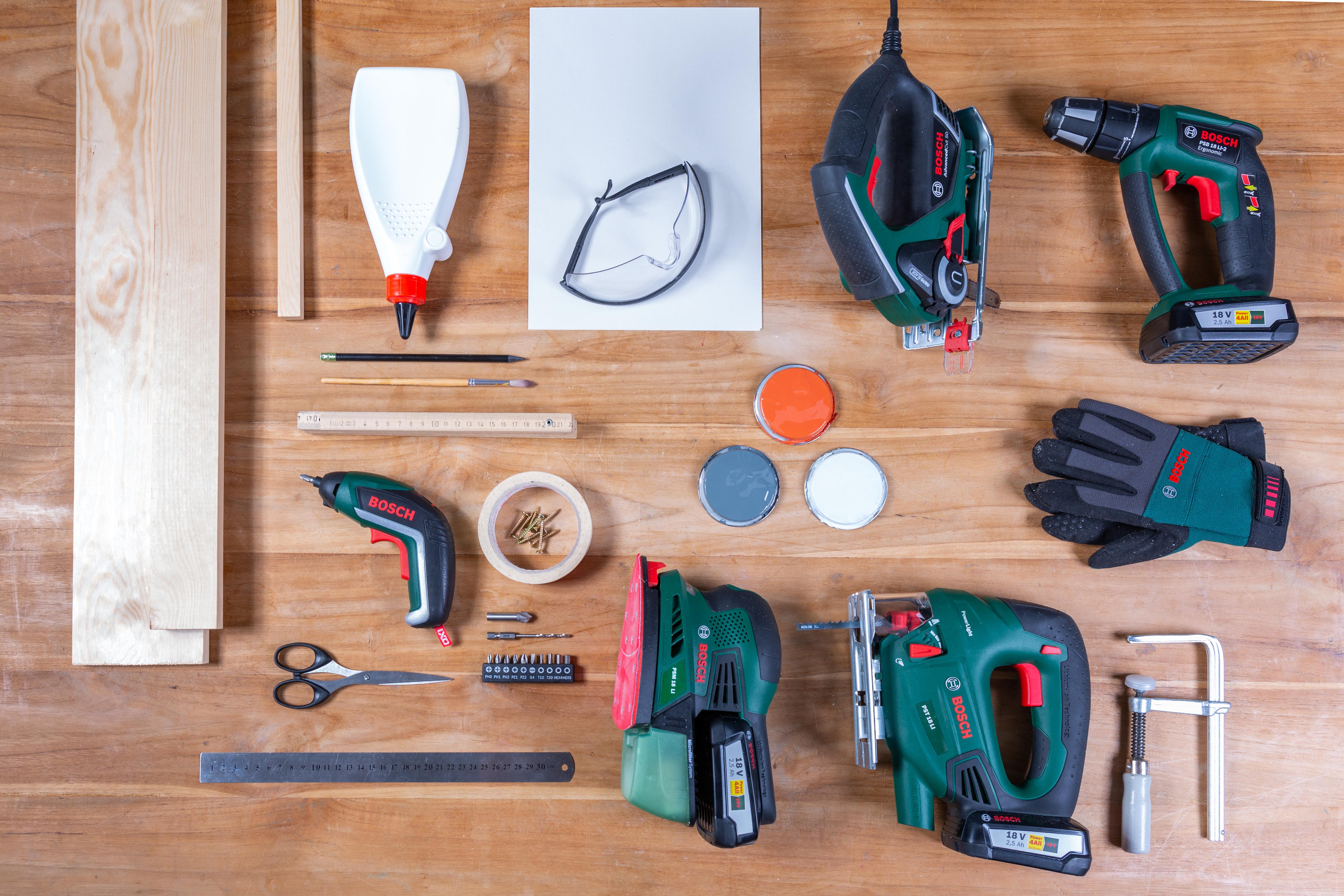 Potrzebne narzędzia