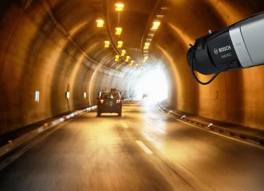 Optymalizacja opartego na technologii wideo systemu wykrywania pożaru AVIOTEC firmy Bosch pod kątem działania w tunelach