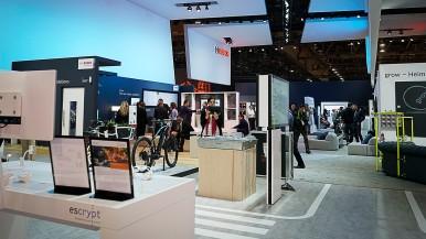Stoisko Bosch na targach CES 2018 w Las Vegas