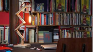 Kreatywne oświetlenie w Twoim domu: lampa zygzak