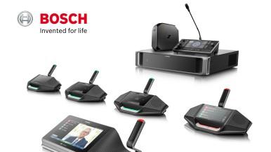 Bazujący na rozwiązaniach IP system konferencyjny DICENTIS firmy Bosch