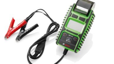 Bosch BAT 115 – nowy tester do akumulatorów  z wbudowaną drukarką