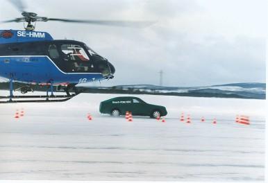 Testy ESP®  w Szwecji w 1995 roku.