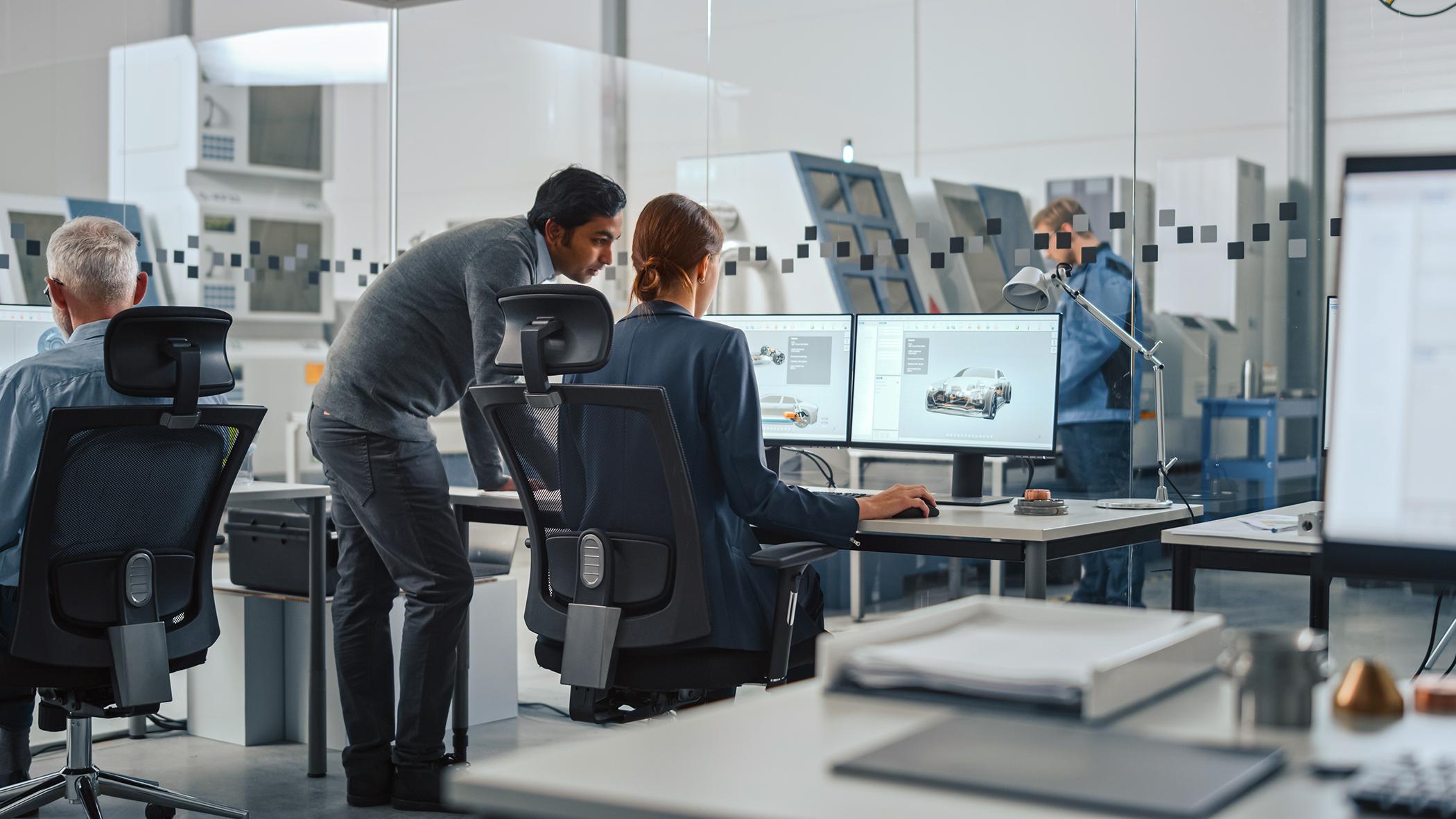 Rozwój oprogramowania i elektroniki  dla motoryzacji: Bosch konsoliduje kompetencje  w ramach nowego działu .