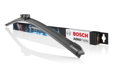 Wycieraczki Bosch Aerotwin ze zmodyfikowanym profilem gumowego pióra