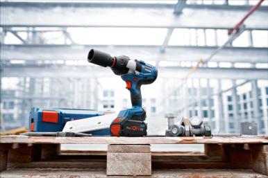 Nowy klucz udarowy marki Bosch Professional: GDS 18V-1050 H