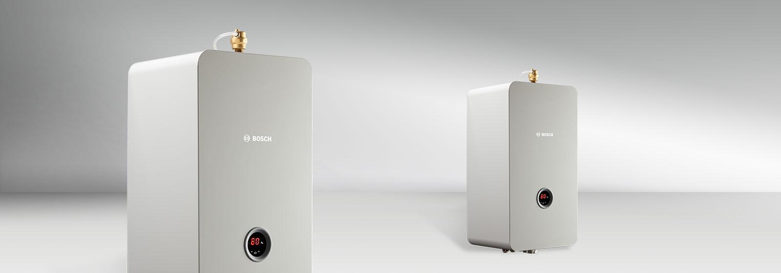 Bosch Tronic Heat 3500: Nowe elektryczne kotły  grzewcze marki Bosch