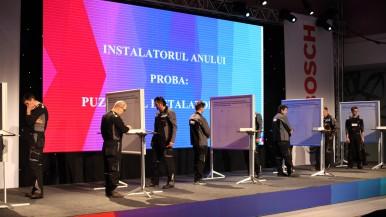 Bosch desemnează instalatorul anului 2016 într-o atmosferă festivă