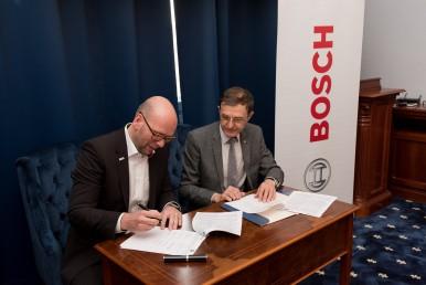 Bosch semnează un nou parteneriat strategic cu Universitatea Babeș-Bolyai din Cluj