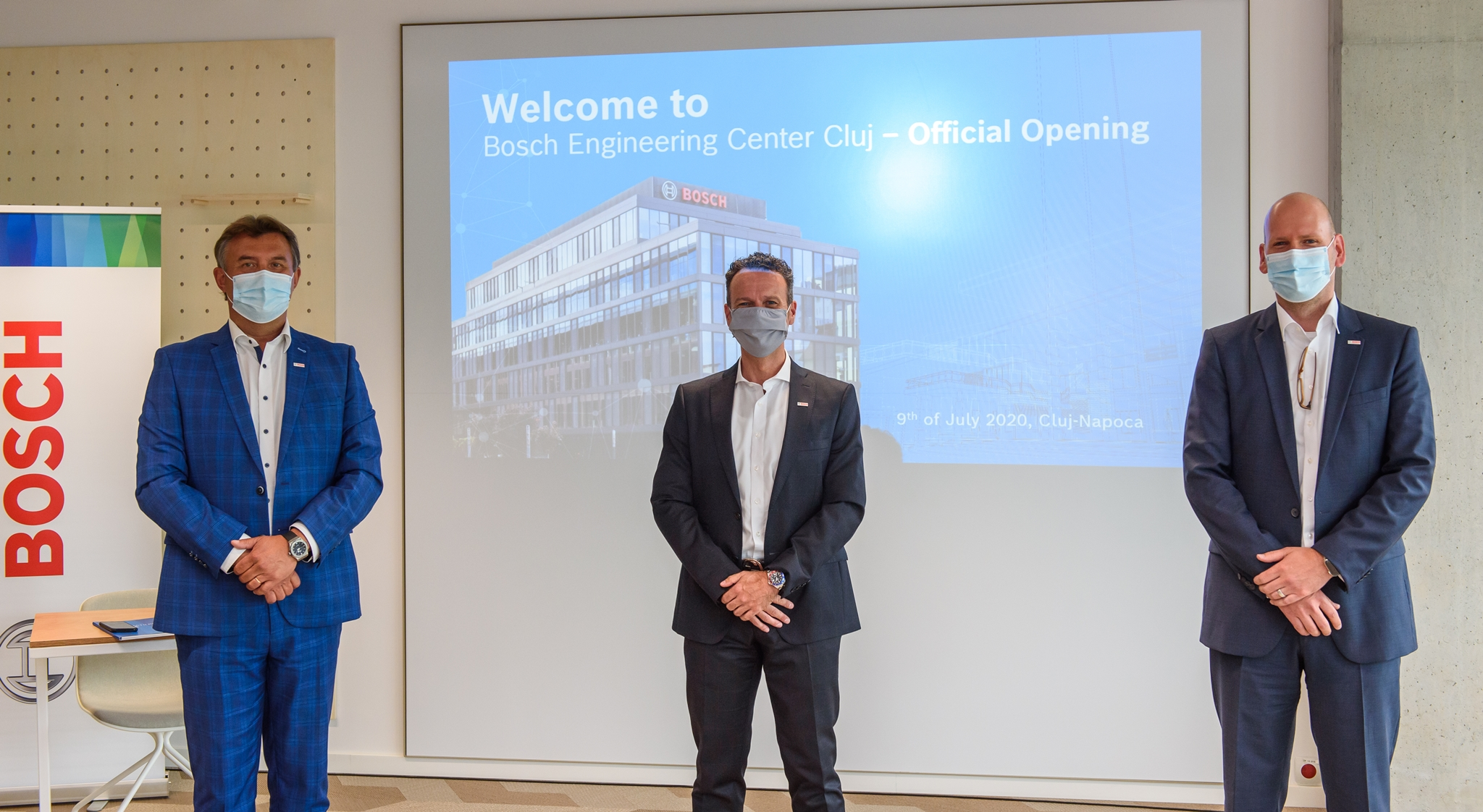 Bosch inaugurează noua clădire de birouri a Centrului de Inginerie din Cluj