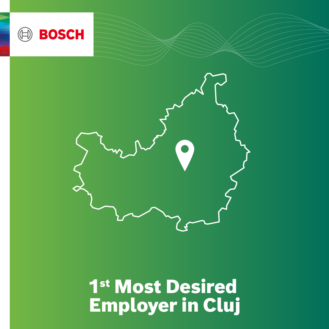 Bosch, al doilea cel mai dorit angajator din industria automotive din România
