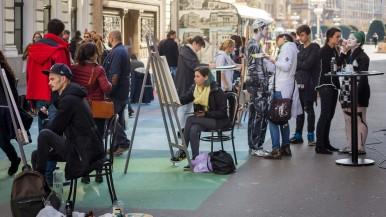 Bosch, împreună cu Asociaţia Noi Re-Creăm dă culoare oraşului Timişoara