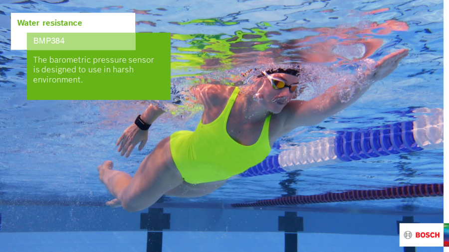 Making a splash: Bosch launches a robust barometric pressure sensor