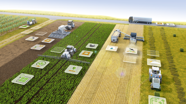With NEVONEX Bosch is offering together with well-known partners an open, manufacturer-independent digital ecosystem for agriculture, that enables the use of digital services directly on agricultural machinery.