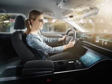 Bosch engineers are innovating the 95-year-old sun visor