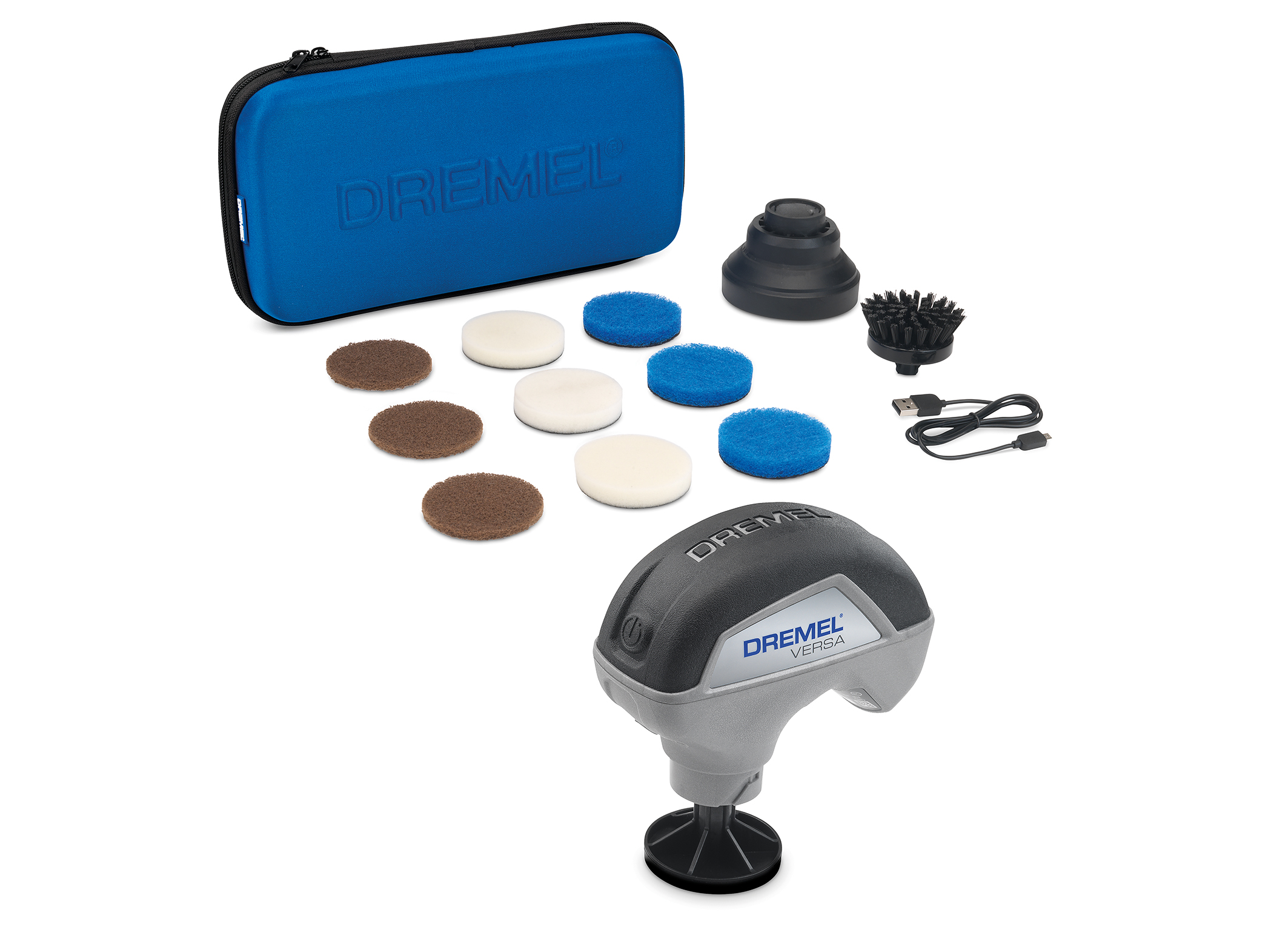 Dremel further taps into product segment for households: Versatile power scrubber Versa.
