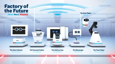 Factory of the Future Experience is a multi-technology exhibit showcasing to businesses and their machine builders how they can make the Factory of the Future a reality of the present.