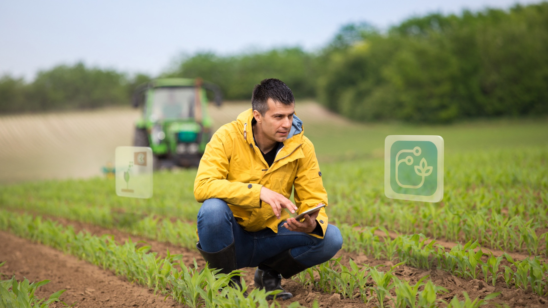 Farmers benefit from the NEVONEX ecosystem and can select an individual package of digital services to make their daily work easier and help to increase yields.