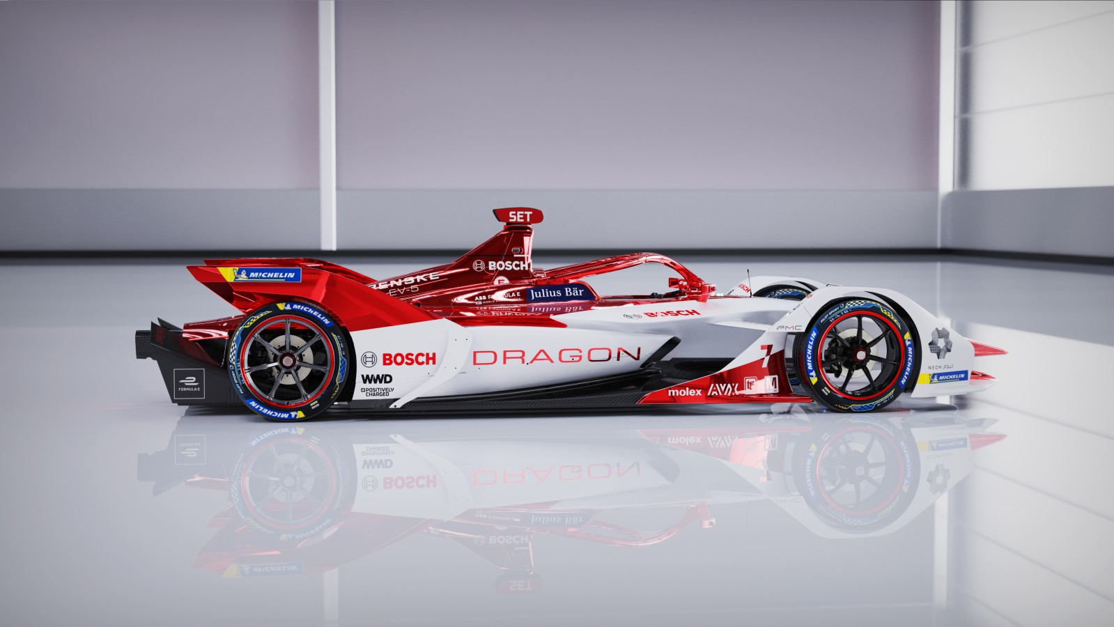Electrifying motorsports: Bosch and DRAGON / PENSKE AUTOSPORT begin a long-term partnership in Formula E