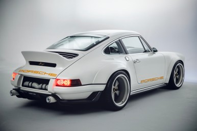 Singer Vehicle Design and Bosch Bring Modern Performance to the Air-Cooled Porsche 911