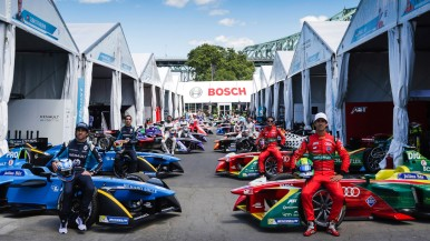 New sponsorship deal: Bosch named official partner of the ABB FIA Formula E Championship