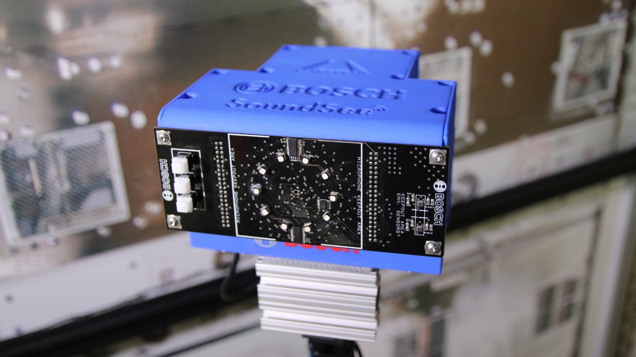 Machine learning: Bosch sends sensor system to ISS