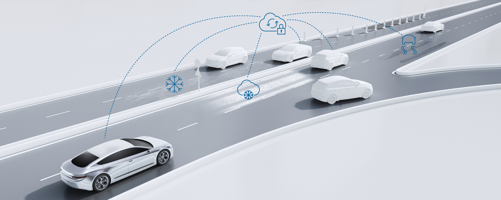 Predictive road-condition services from Bosch