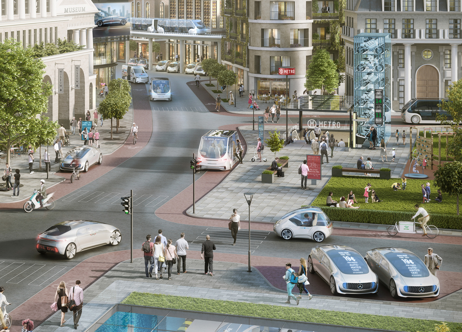 Driverless driving: game changer for individual mobility