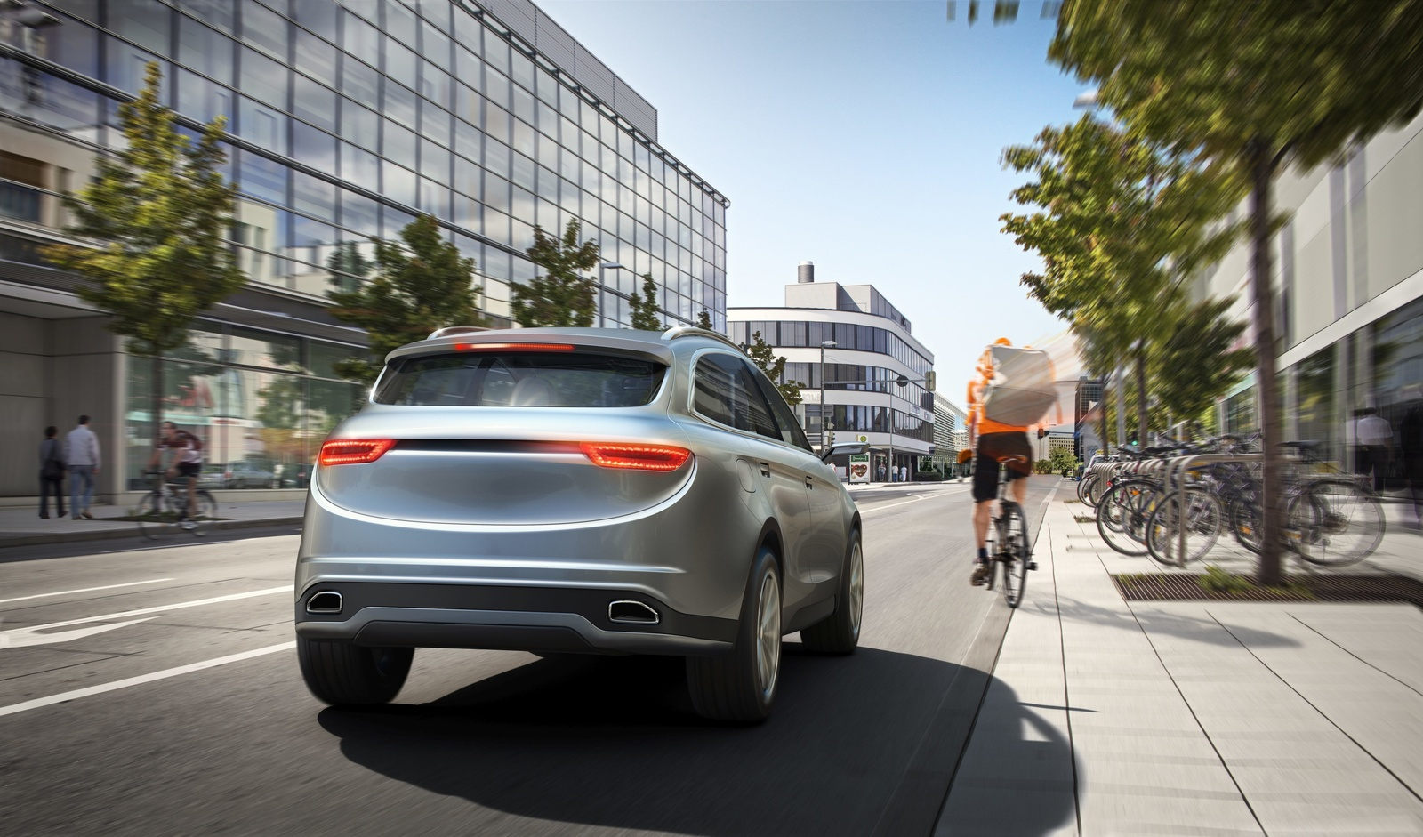 Better than a pair of eyes: Bosch camera with AI for driver assistance and automated driving