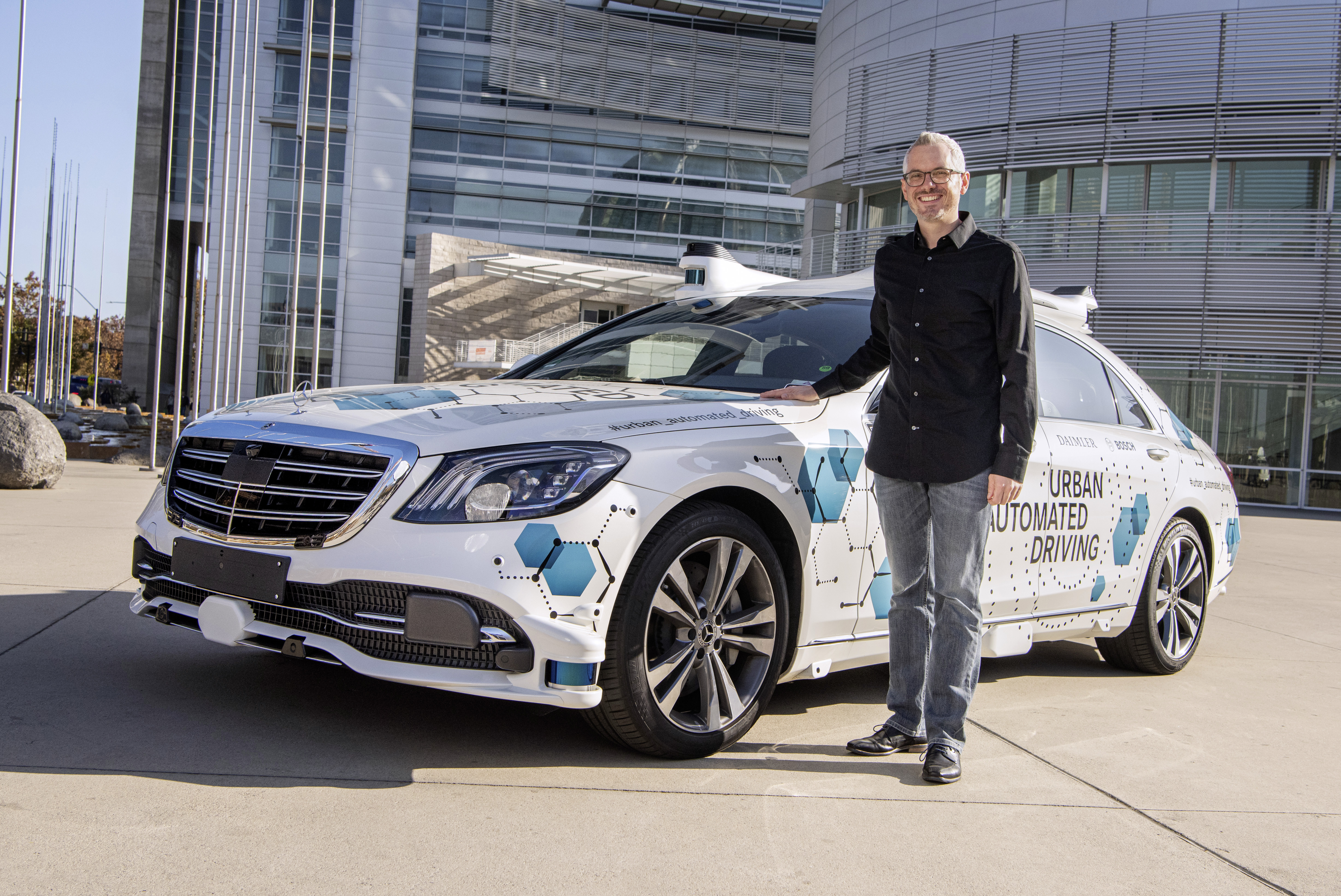 Bosch and Mercedes Benz start San Jose pilot project for automated ...