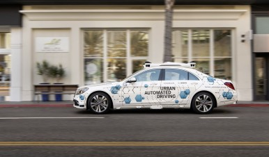 Bosch and Mercedes-Benz start San Jose pilot project for automated ride-hailing service