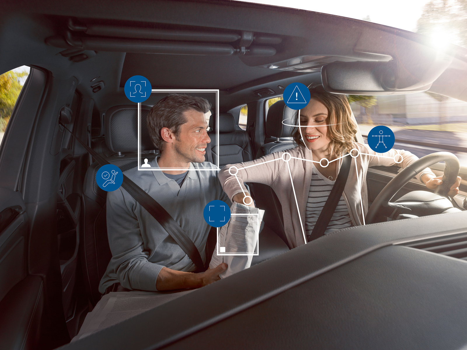 Camera-based lifesaver: Bosch helps cars keep an eye on their passengers