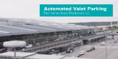 Automated Valet Parking am Flughafen Stuttgart