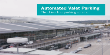 Automated Valet Parking at Stuttgart airport
